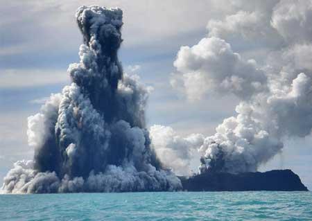 南太平洋海底火山大爆发景象壮观(组图)