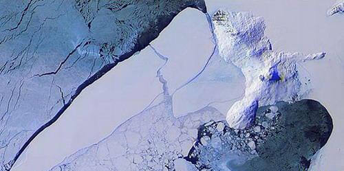 第七名:南极洲最大的冰山b15(b15-antarctica)