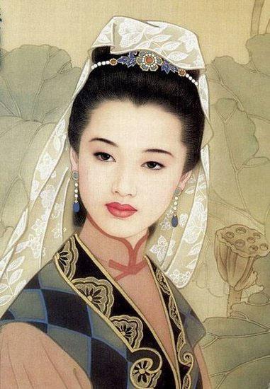 中国古代九大倾国美女 - 图说历史 - 网校通产品官方站