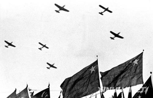 1949年10月1日,开国大典上