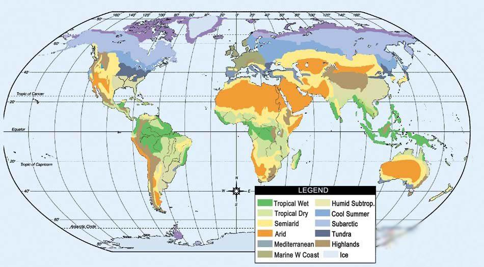 全球洋流的分布与成因