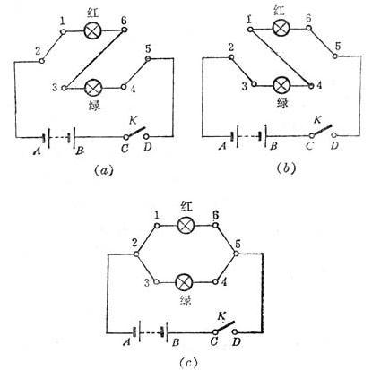 演示电路连接注意事项-科学实验