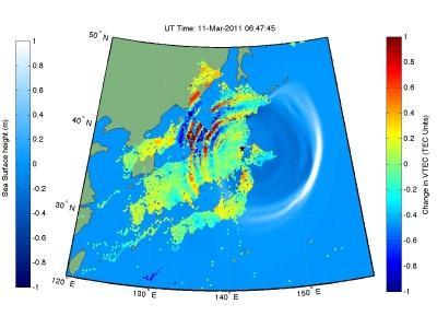 nasa:福岛地震和海啸可干扰上层大气
