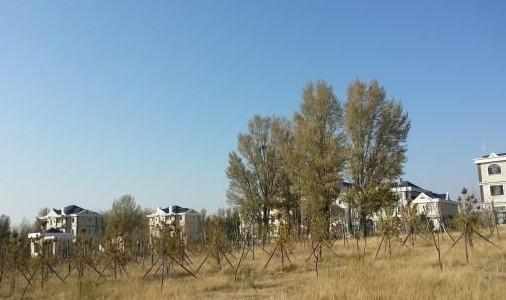 内蒙古贫困旗建欧式豪华接待中心
