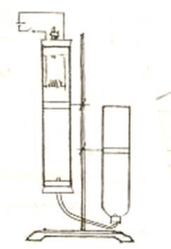 取300-500瓦的电炉丝一小段(约8-10个自然圈)