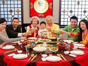 情景对话:家庭团圆饭