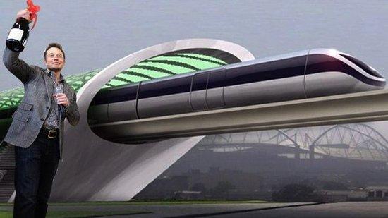 美国电动汽车公司tesla特斯拉提出超级高铁计划