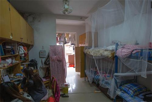 长沙理工大学设计学院四名大一女生,将寝室装修成咖啡厅风格,命名为图片