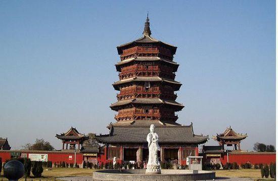 中国古代杰出的十大名塔之应县释迦塔(木塔)-地理