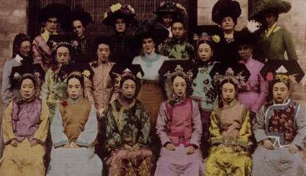 美女真实图片清宫妃子真实照片古代真实美女的图片