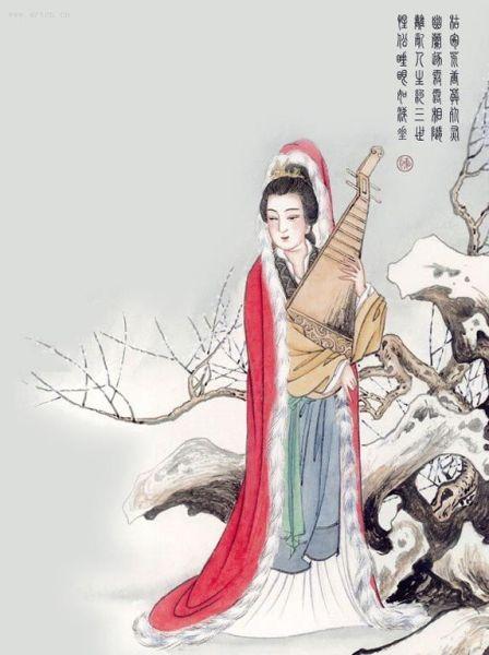 王昭君是中国古代四大美女之一图片