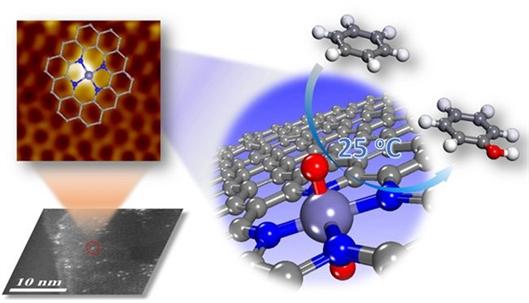 纳米石墨烯限域单原子铁催化剂研究取得新进展-化学
