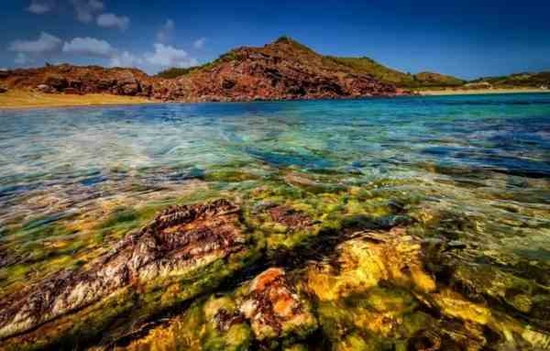 水质最透明的十大海岛:西班牙 · 梅诺卡岛