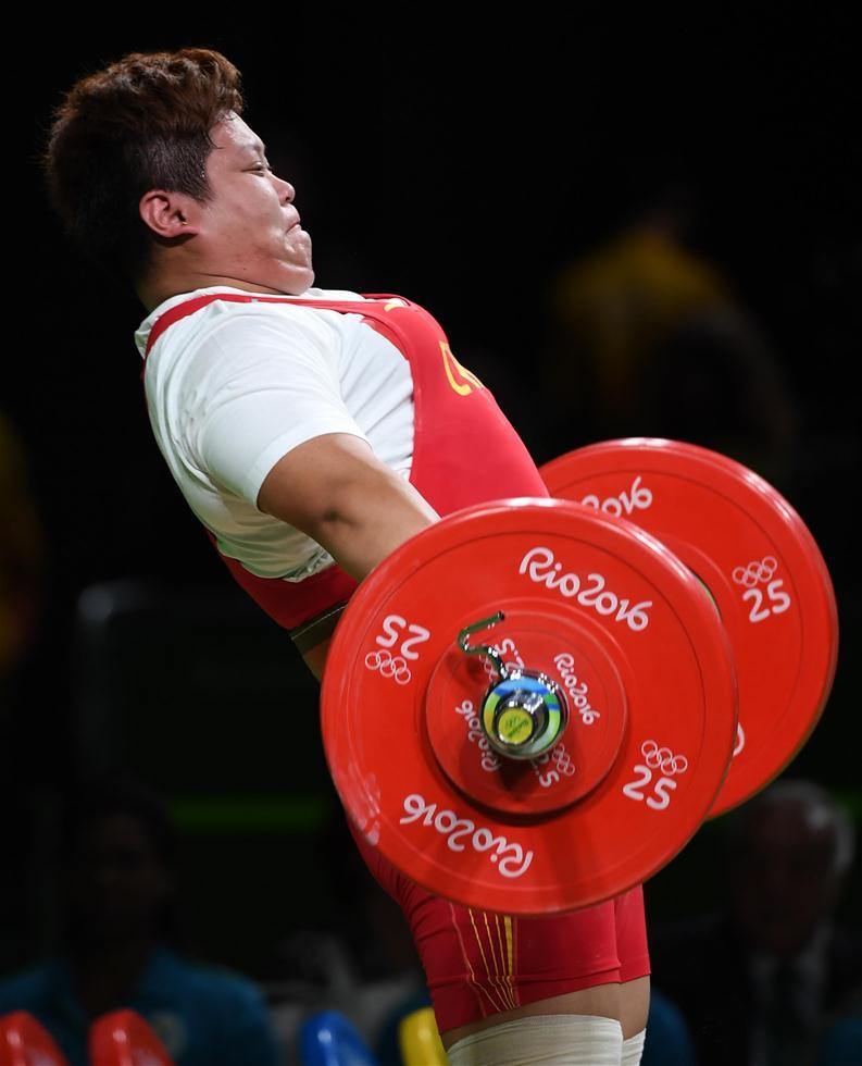 当日,在2016年里约奥运举重女子75公斤以上级决赛中,孟苏平以307曲棍球守门员鞋图片