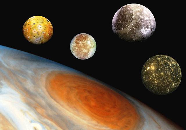 木星光环真实图片