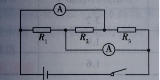 具体的讲就是,要判断电压表测量的是哪一部分电路两端的电压,我们可以