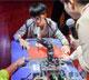 中国科学技术大学校园上演机器人大赛