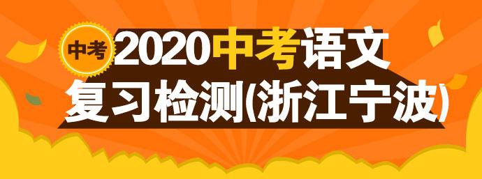 中考钱柜手机网页版复习检测(浙江宁波)