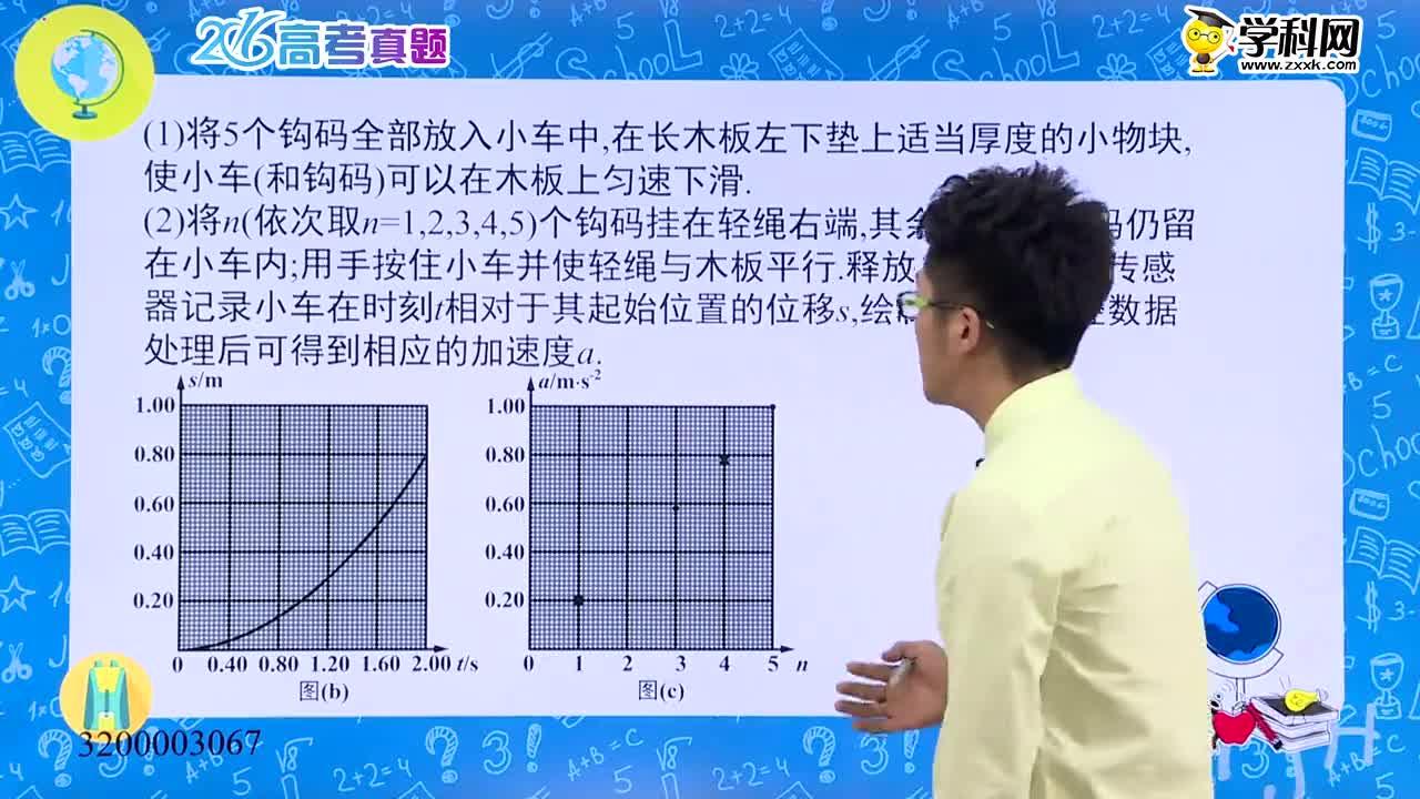 高考物理 真题解析——2016新课标卷Ⅲ突破力学实验-试题视频